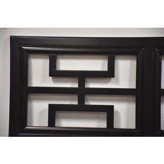 Chin Hua Black Lacquer Queen Headboard Preview