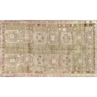 "1960s Turkish Oushak Carpet - 7'5"" X 13'1"" For Sale"