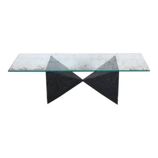 Paul Evans Mid-Century Modern Brutalist Bow Tie Cocktail Table For Sale