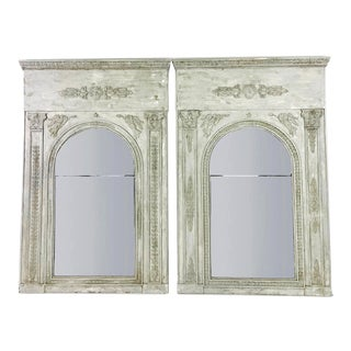 19th Century French Mirrors - a Pair For Sale