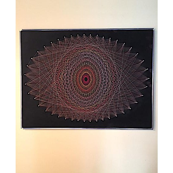 Mid-Century 1970s String Art - Image 2 of 6