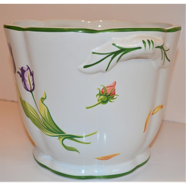 "Vintage Tiffany & Company ""Petals"" Cachepot For Sale In Houston - Image 6 of 13"