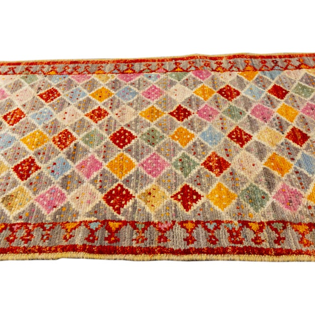 "Textile Modern Gabbeh Rug, 2'0"" X 5'2"" For Sale - Image 7 of 10"
