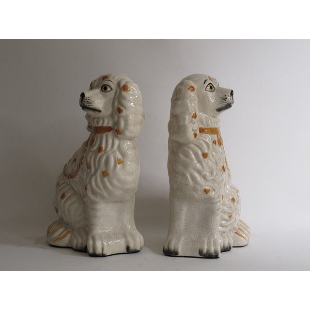 Staffordshire Dog Figurines - A Pair For Sale - Image 4 of 9