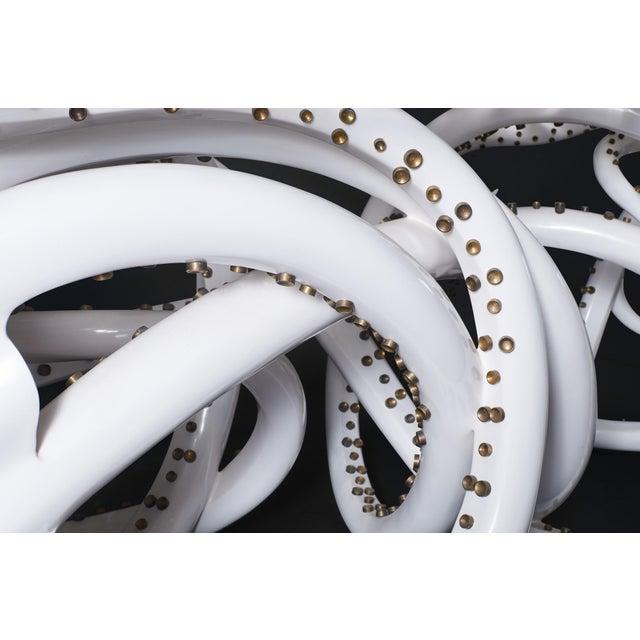 Contemporary White Resin Octopus Console Table For Sale In San Francisco - Image 6 of 7