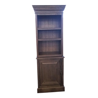 French Restoration Hardware Single-Door Sideboard For Sale
