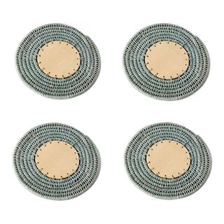 Round Coasters Pool - Set of 4 For Sale