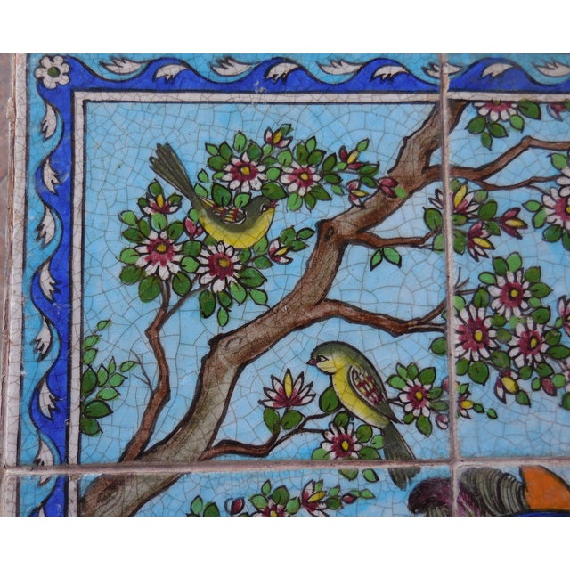 Vintage Persian Tile Coffee Table - Image 8 of 11