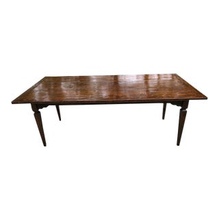 Marked Down! 19th Century French Fruitwood Farm Table