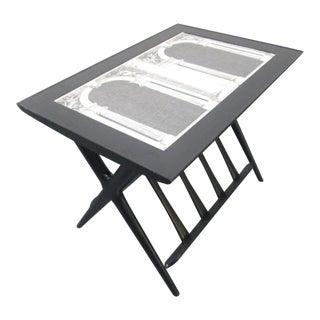 Architettura Table by Piero Fornasetti