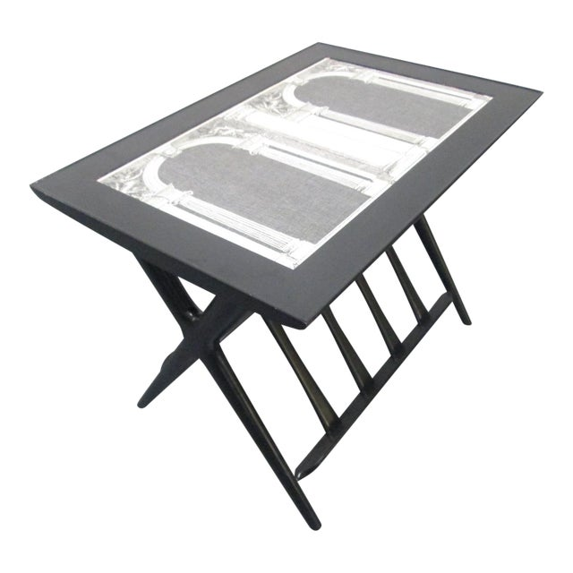 Architettura Table by Piero Fornasetti For Sale