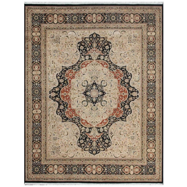 Pasargad Tabriz Collection Rug - 8'x10' - Image 1 of 1