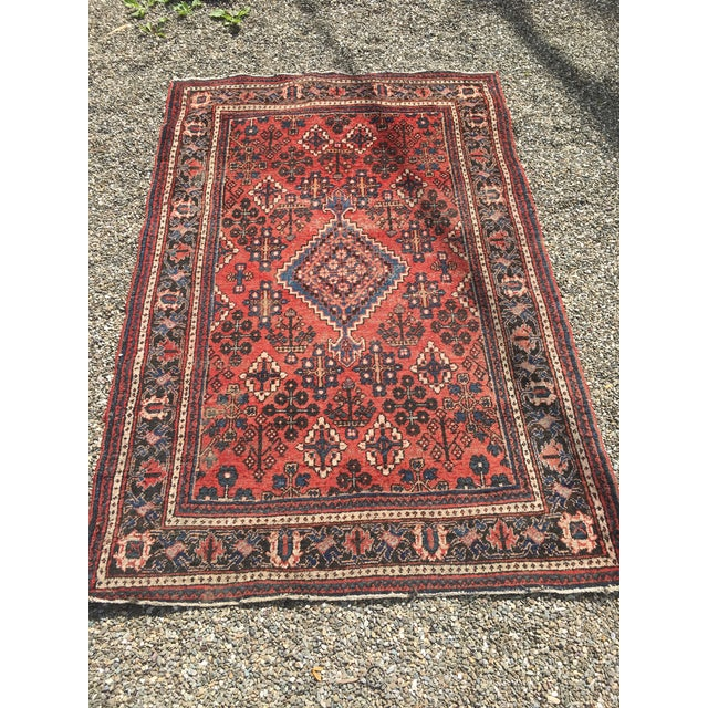 "Gorgeous Persian Vintage Wool Rug - 51"" x 73"" - Image 2 of 5"