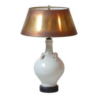 Bosch Freres Ceramic Lamp For Sale