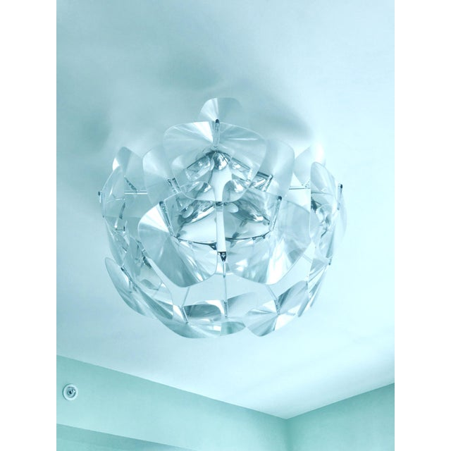 Hope Modernist Ceiling Light With Reflective Prisms by Luceplan, Italy 2018 For Sale - Image 9 of 13