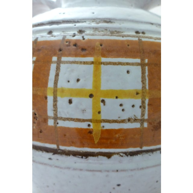 Ceramic Mid-Century Modern Italian Art Pottery Vase For Sale - Image 7 of 11
