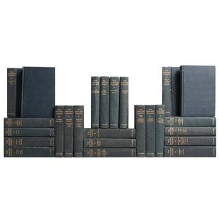 Blue Harvard Classic Books - S/25