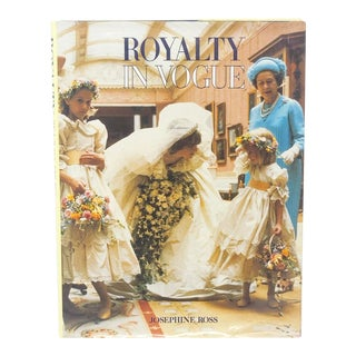 Royalty in Vogue Vintage Hardback Book For Sale
