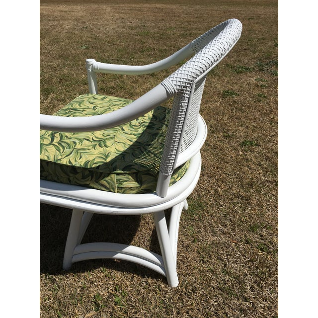 Ficks Reed Cane Swivel Chairs - A Pair - Image 8 of 10