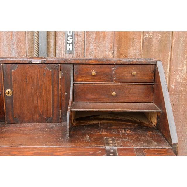 18th Century Swedish Secretary Desk For Sale - Image 9 of 11