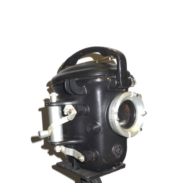 Offered here for your perusal is this circa 1950s Bolex - Paillard Swiss Made 16mm underwater motion picture camera...