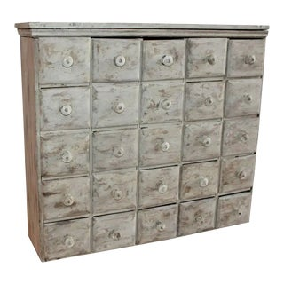 Apothecary Cabinet 19th Century With 25 Drawers For Sale