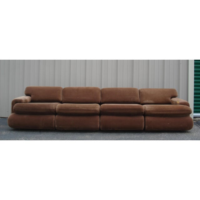 Vintage 1970s Vladimir Kagan Modular Sectional Sofa by Preview For Sale - Image 10 of 13