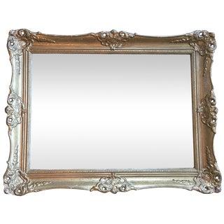 Antique Louis XV Gilt Plaster Mirror
