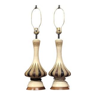 Mid-Century Modern Quartite Creative Corp Genie Lamps For Sale