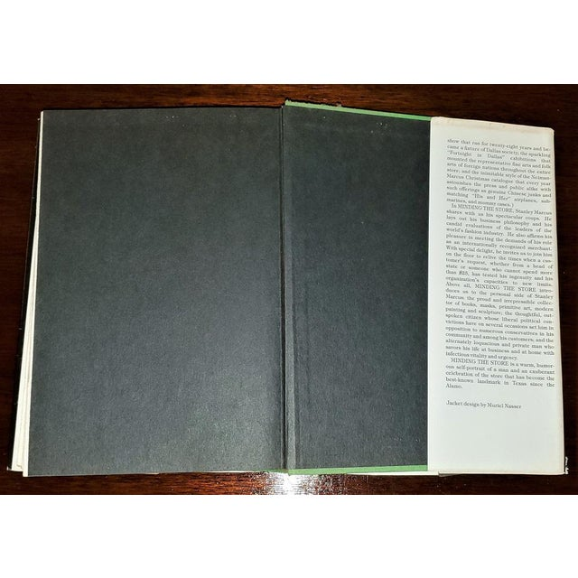 "Paper ""Minding the Store"" Book by Stanley Marcus 1st Edition Signed For Sale - Image 7 of 13"