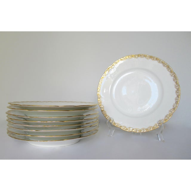 Vintage: 1910-30's, Original French Limoges, porcelain fine china, designed by BMdeM for Louis Strauss & Sons. This is a...