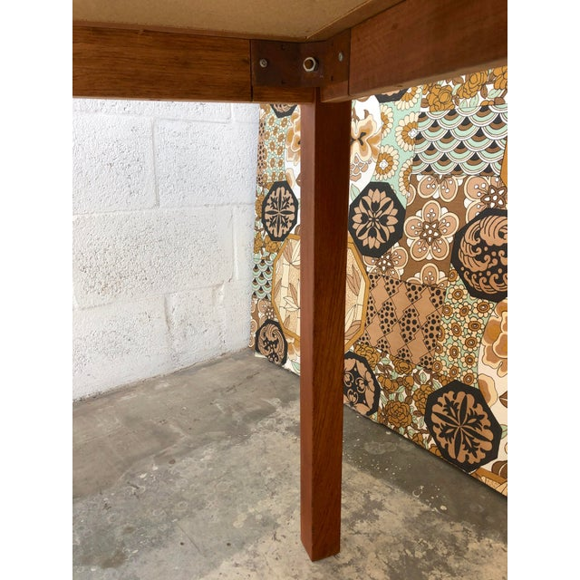 Vintage Mid Century Danish Modern Tile Top Console/ Entry Table For Sale - Image 10 of 13
