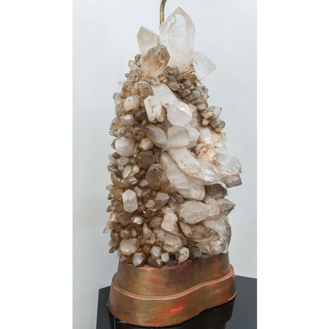 Carole Stupell Rock Crystal Lamp For Sale In San Francisco - Image 6 of 9