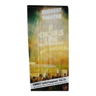 Forrest Theatre Billboard Advertisement