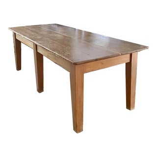 19th Century French Farm Table For Sale