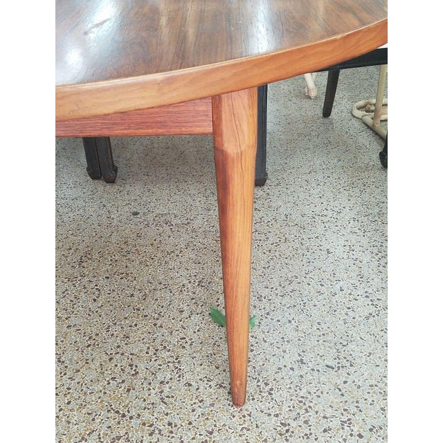 Mid-Century Modern 1960's Danish Mid-Century Modern Style Rosewood Dining Table For Sale - Image 3 of 12