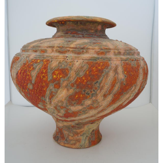 Vintage Peter Andersson Australia Glazed Earthenware Artisan Pot or Vase With Papers For Sale - Image 9 of 11