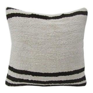 Vintage Hemp Kilim Pillow For Sale