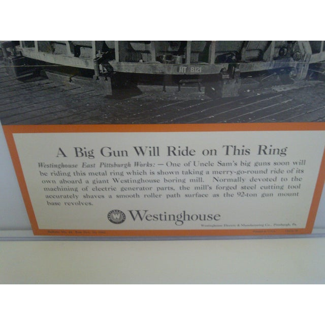 Vintage Westinghouse Advertising Poster, No. 48 For Sale - Image 5 of 8