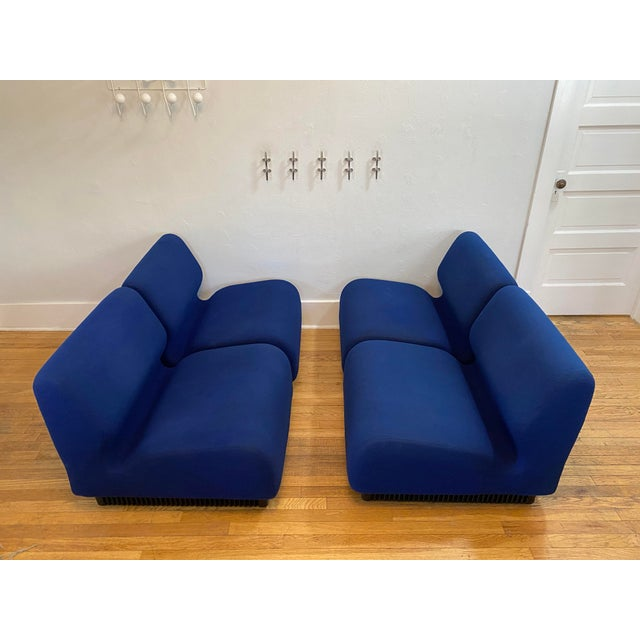 Blue 1970s Vintage Don Chadwick for Herman Miller Modular Sectional For Sale - Image 8 of 13