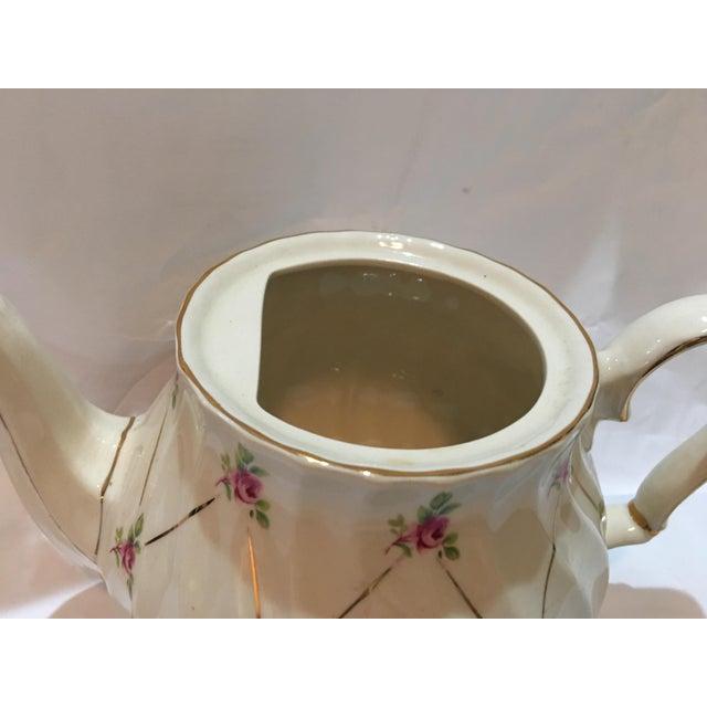 English Sadler Porcelain Teapot For Sale - Image 4 of 7