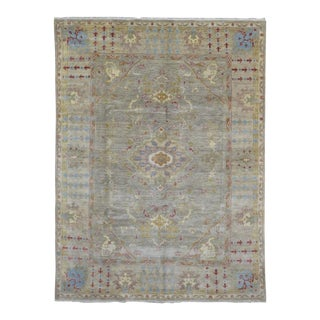 """Peshawar Hand Knotted Oriental Area Rug - 7'7""""x10'"""
