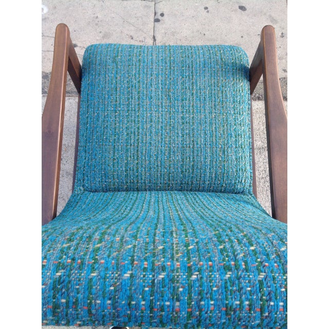 Mid-Century Modern Recliner Lounge Chair For Sale In Los Angeles - Image 6 of 6
