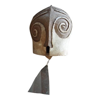 Vintage Paolo Soleri Large Ceramic Bell Wind Chime For Sale