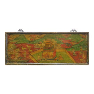Tibetan Painted Board For Sale