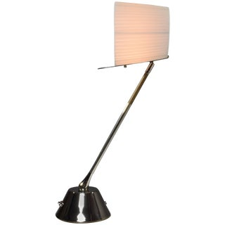 Infinitus-II Contemporary Handcrafted Articulating Brass Lamp, Flow Collection For Sale