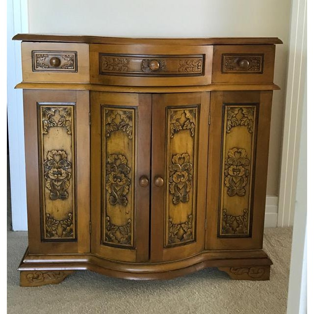 Decoratively Carved Cabinet - Image 2 of 5
