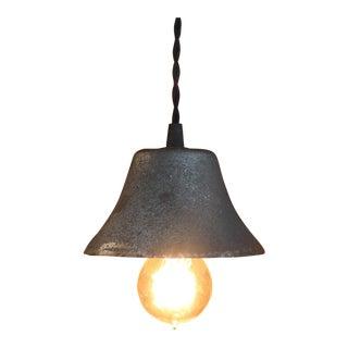 Vintage Bell Pendant Light For Sale