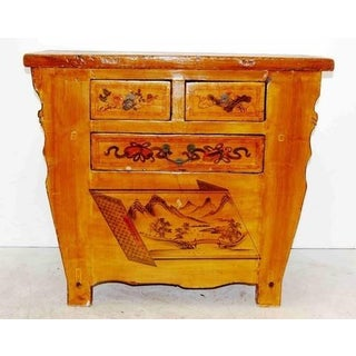 4-Drawer Hand Painted Chinese Cabinet Preview