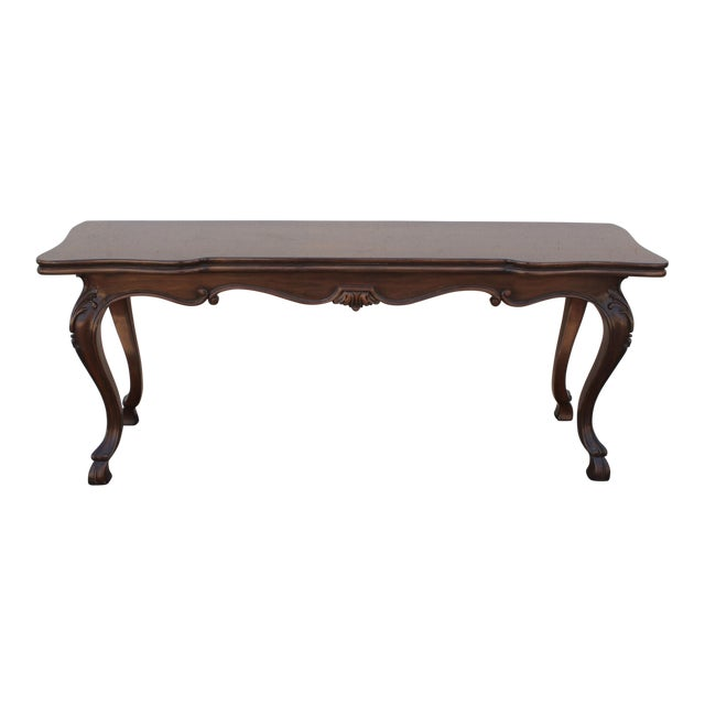 Karges Convertible Console Table For Sale
